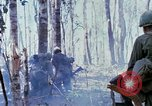 Image of Troops of US 503rd Airborne Infantry Regiment assault Hill 875 South Vietnam, 1967, second 34 stock footage video 65675021188
