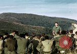 Image of U.S. army chaplain leads service Vietnam, 1968, second 12 stock footage video 65675021201