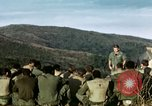 Image of U.S. army chaplain leads service Vietnam, 1968, second 14 stock footage video 65675021201