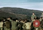 Image of U.S. army chaplain leads service Vietnam, 1968, second 15 stock footage video 65675021201