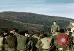Image of U.S. army chaplain leads service Vietnam, 1968, second 16 stock footage video 65675021201