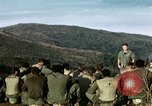 Image of U.S. army chaplain leads service Vietnam, 1968, second 18 stock footage video 65675021201