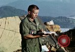 Image of U.S. army chaplain leads service Vietnam, 1968, second 35 stock footage video 65675021201