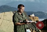 Image of U.S. army chaplain leads service Vietnam, 1968, second 37 stock footage video 65675021201