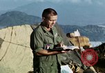 Image of U.S. army chaplain leads service Vietnam, 1968, second 41 stock footage video 65675021201