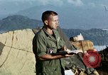 Image of U.S. army chaplain leads service Vietnam, 1968, second 44 stock footage video 65675021201