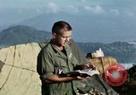 Image of U.S. army chaplain leads service Vietnam, 1968, second 46 stock footage video 65675021201