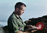 Image of U.S. army chaplain leads service Vietnam, 1968, second 48 stock footage video 65675021201