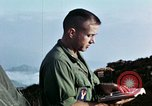 Image of U.S. army chaplain leads service Vietnam, 1968, second 52 stock footage video 65675021201