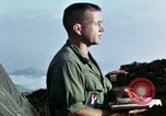 Image of U.S. army chaplain leads service Vietnam, 1968, second 54 stock footage video 65675021201