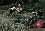 Image of US Army 196th Light Infantry Brigade soldiers rest Vietnam, 1968, second 32 stock footage video 65675021202