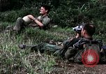 Image of US Army 196th Light Infantry Brigade soldiers rest Vietnam, 1968, second 35 stock footage video 65675021202