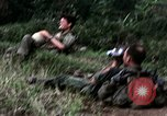 Image of US Army 196th Light Infantry Brigade soldiers rest Vietnam, 1968, second 36 stock footage video 65675021202