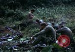 Image of US Army 196th Light Infantry Brigade soldiers rest Vietnam, 1968, second 37 stock footage video 65675021202