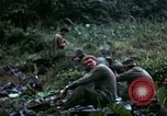 Image of US Army 196th Light Infantry Brigade soldiers rest Vietnam, 1968, second 40 stock footage video 65675021202