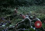 Image of US Army 196th Light Infantry Brigade soldiers rest Vietnam, 1968, second 41 stock footage video 65675021202