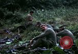 Image of US Army 196th Light Infantry Brigade soldiers rest Vietnam, 1968, second 42 stock footage video 65675021202