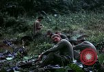 Image of US Army 196th Light Infantry Brigade soldiers rest Vietnam, 1968, second 43 stock footage video 65675021202