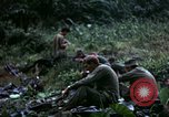Image of US Army 196th Light Infantry Brigade soldiers rest Vietnam, 1968, second 44 stock footage video 65675021202