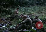 Image of US Army 196th Light Infantry Brigade soldiers rest Vietnam, 1968, second 45 stock footage video 65675021202