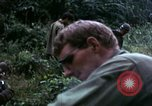 Image of US Army 196th Light Infantry Brigade soldiers rest Vietnam, 1968, second 49 stock footage video 65675021202