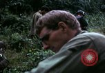Image of US Army 196th Light Infantry Brigade soldiers rest Vietnam, 1968, second 52 stock footage video 65675021202