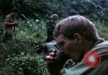 Image of US Army 196th Light Infantry Brigade soldiers rest Vietnam, 1968, second 56 stock footage video 65675021202