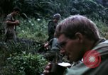 Image of US Army 196th Light Infantry Brigade soldiers rest Vietnam, 1968, second 57 stock footage video 65675021202