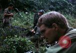 Image of US Army 196th Light Infantry Brigade soldiers rest Vietnam, 1968, second 59 stock footage video 65675021202