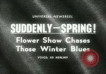 Image of 48th International Flower Show New York United States USA, 1965, second 4 stock footage video 65675021207