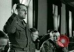 Image of Trial of Nazi Franz Strasser Dachau Germany, 1945, second 31 stock footage video 65675021221