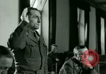 Image of Trial of Nazi Franz Strasser Dachau Germany, 1945, second 33 stock footage video 65675021221