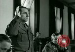 Image of Trial of Nazi Franz Strasser Dachau Germany, 1945, second 34 stock footage video 65675021221