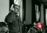Image of Trial of Nazi Franz Strasser Dachau Germany, 1945, second 35 stock footage video 65675021221