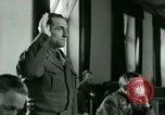 Image of Trial of Nazi Franz Strasser Dachau Germany, 1945, second 36 stock footage video 65675021221