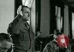 Image of Trial of Nazi Franz Strasser Dachau Germany, 1945, second 38 stock footage video 65675021221