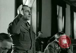 Image of Trial of Nazi Franz Strasser Dachau Germany, 1945, second 40 stock footage video 65675021221