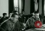 Image of Trial of Nazi Franz Strasser Dachau Germany, 1945, second 43 stock footage video 65675021221