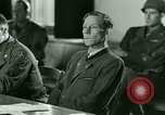 Image of Trial of Nazi Franz Strasser Dachau Germany, 1945, second 45 stock footage video 65675021221