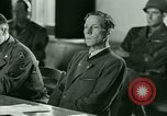 Image of Trial of Nazi Franz Strasser Dachau Germany, 1945, second 46 stock footage video 65675021221