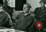 Image of Trial of Nazi Franz Strasser Dachau Germany, 1945, second 47 stock footage video 65675021221