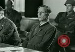 Image of Trial of Nazi Franz Strasser Dachau Germany, 1945, second 48 stock footage video 65675021221