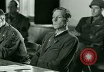 Image of Trial of Nazi Franz Strasser Dachau Germany, 1945, second 50 stock footage video 65675021221