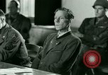 Image of Trial of Nazi Franz Strasser Dachau Germany, 1945, second 54 stock footage video 65675021221