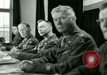 Image of Trial of Nazi Franz Strasser Dachau Germany, 1945, second 62 stock footage video 65675021221