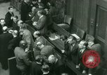 Image of Otto Ohlendorf plea war crimes trial Nuremberg Germany, 1948, second 3 stock footage video 65675021233