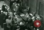 Image of Otto Ohlendorf plea war crimes trial Nuremberg Germany, 1948, second 4 stock footage video 65675021233