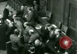 Image of Otto Ohlendorf plea war crimes trial Nuremberg Germany, 1948, second 7 stock footage video 65675021233