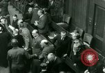 Image of Otto Ohlendorf plea war crimes trial Nuremberg Germany, 1948, second 10 stock footage video 65675021233