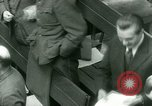 Image of Otto Ohlendorf plea war crimes trial Nuremberg Germany, 1948, second 17 stock footage video 65675021233